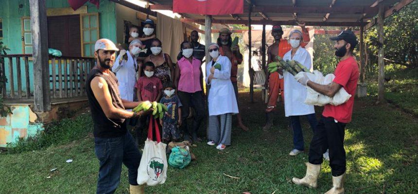Assentamento PDS Osvaldo de Oliveira participa de campanha solidária durante a pandemia