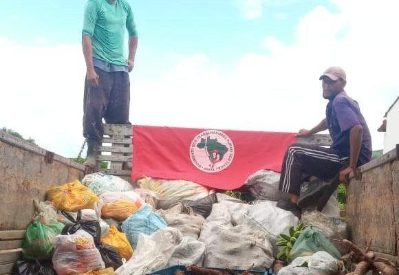 MST doa 12 toneladas de alimentos saudáveis em Alagoas nesta sexta-feira (17)