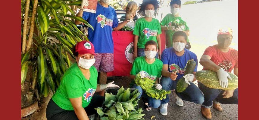 Solidariedade: alimentos saem de assentamentos para bairros pobres e moradores de rua