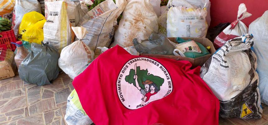 MST em Rondônia faz doação de alimentos à APAE e à Fundação Casa de Ji-Paraná