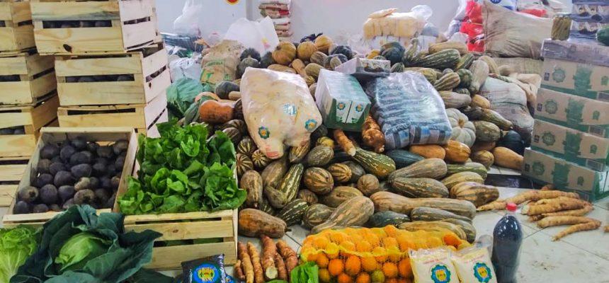 MST doa 6 toneladas de alimentos saudáveis em Lages, Santa Catarina