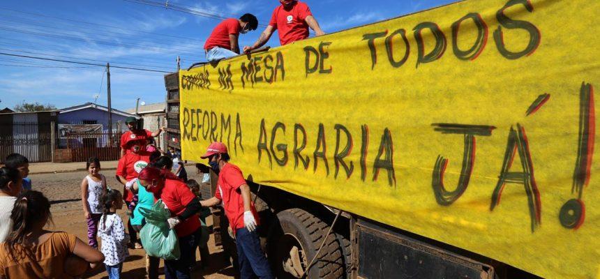 Artigo| Reforma Agrária já! Solidariedade e enfrentamento à pandemia estrutural