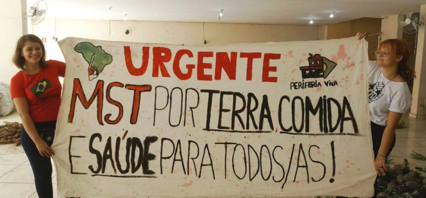 Doação de alimentos saudáveis marca o lançamento do Plano Emergencial na Paraíba