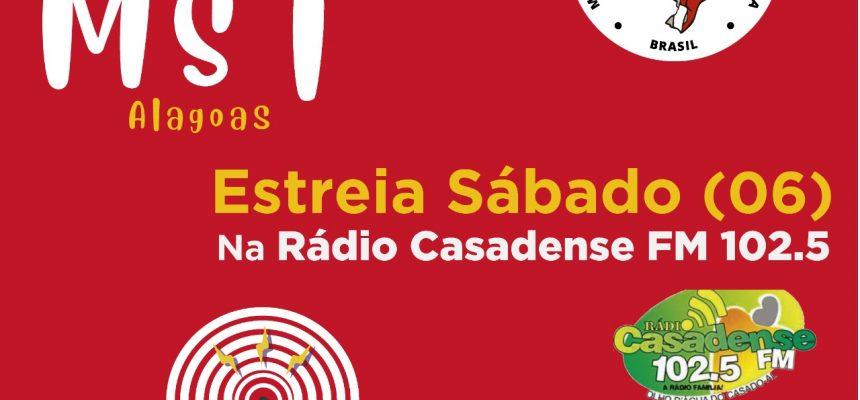 No Alto Sertão de Alagoas, MST lança novo programa de rádio semanal