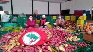 Doações, atos e lives marcaram o lançamento do Plano Emergencial de Reforma Agrária Popular