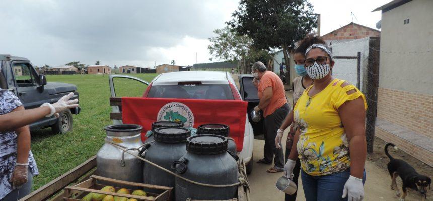 MST realiza ato de solidariedade em toda a Bahia durante essa segunda-feira