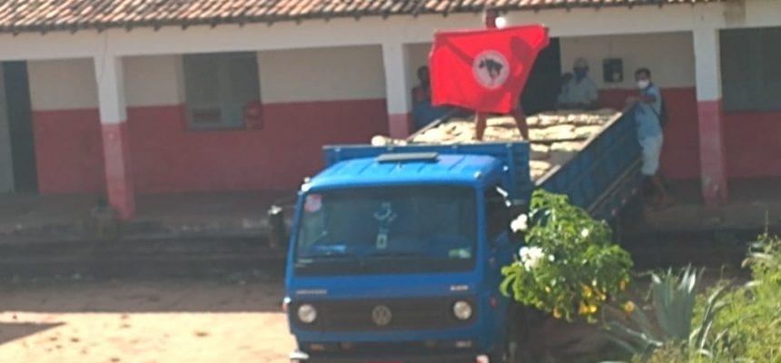 No Rio Grande do Norte, MST entrega leite em pó para compor o kit da merenda