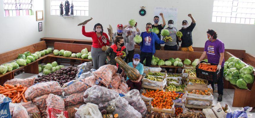 MST doa 11 toneladas de alimentos na grande Florianópolis