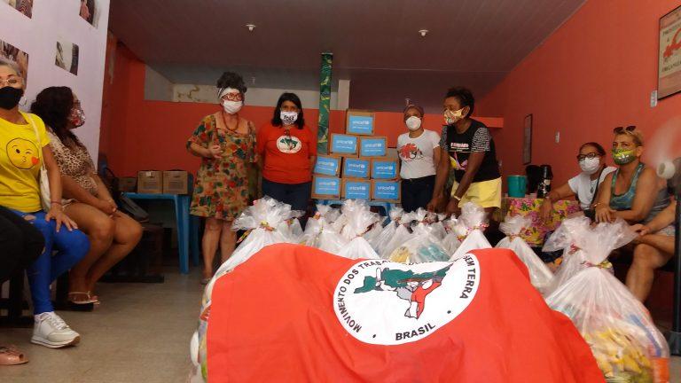MST ação de solidariedade no Pará