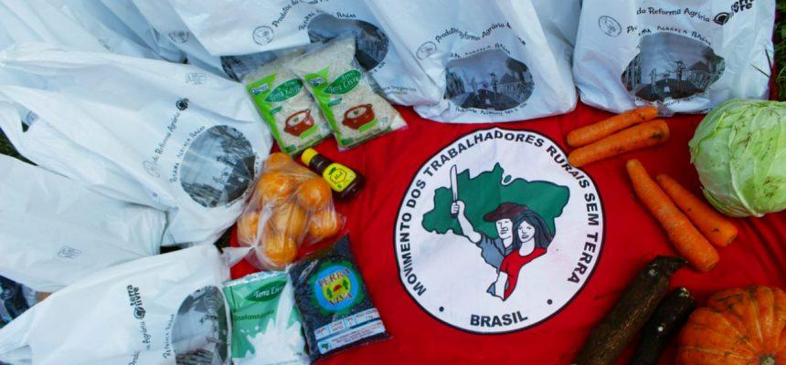 MST doará mil cestas de produtos da Reforma Agrária a comunidades de Porto Alegre