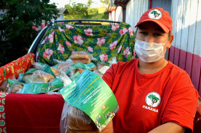 Entrega de Alimentos no norte do Paraná_Foto Igor de Nadai MST-PR