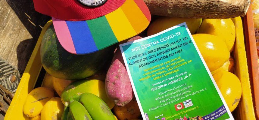 22 comunidades do MST doam alimentos em Cornélio Procópio (PR) neste sábado