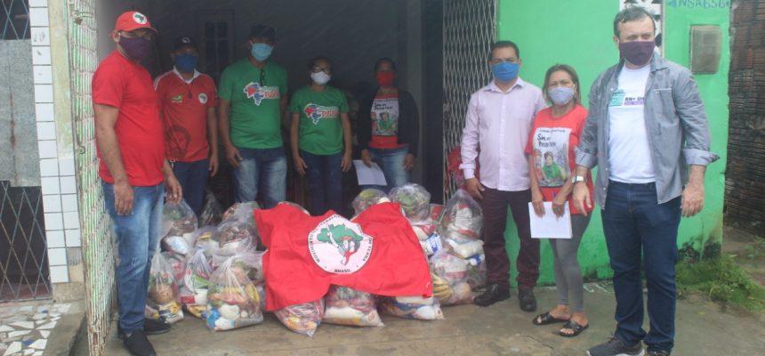 Solidariedade como missão social: MST e governo do RN fazem doação de alimentos