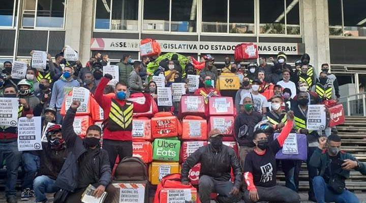 MST apoia a greve nacional das entregadoras e entregadores