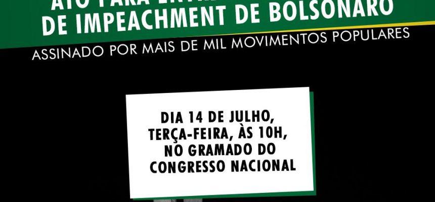 Mais de mil organizações se juntam para pedir impeachment de Jair Bolsonaro