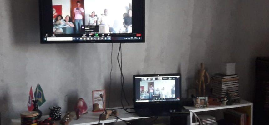 Tempos de pandemia: MST-BA faz reunião virtual com coordenadores de todo estado