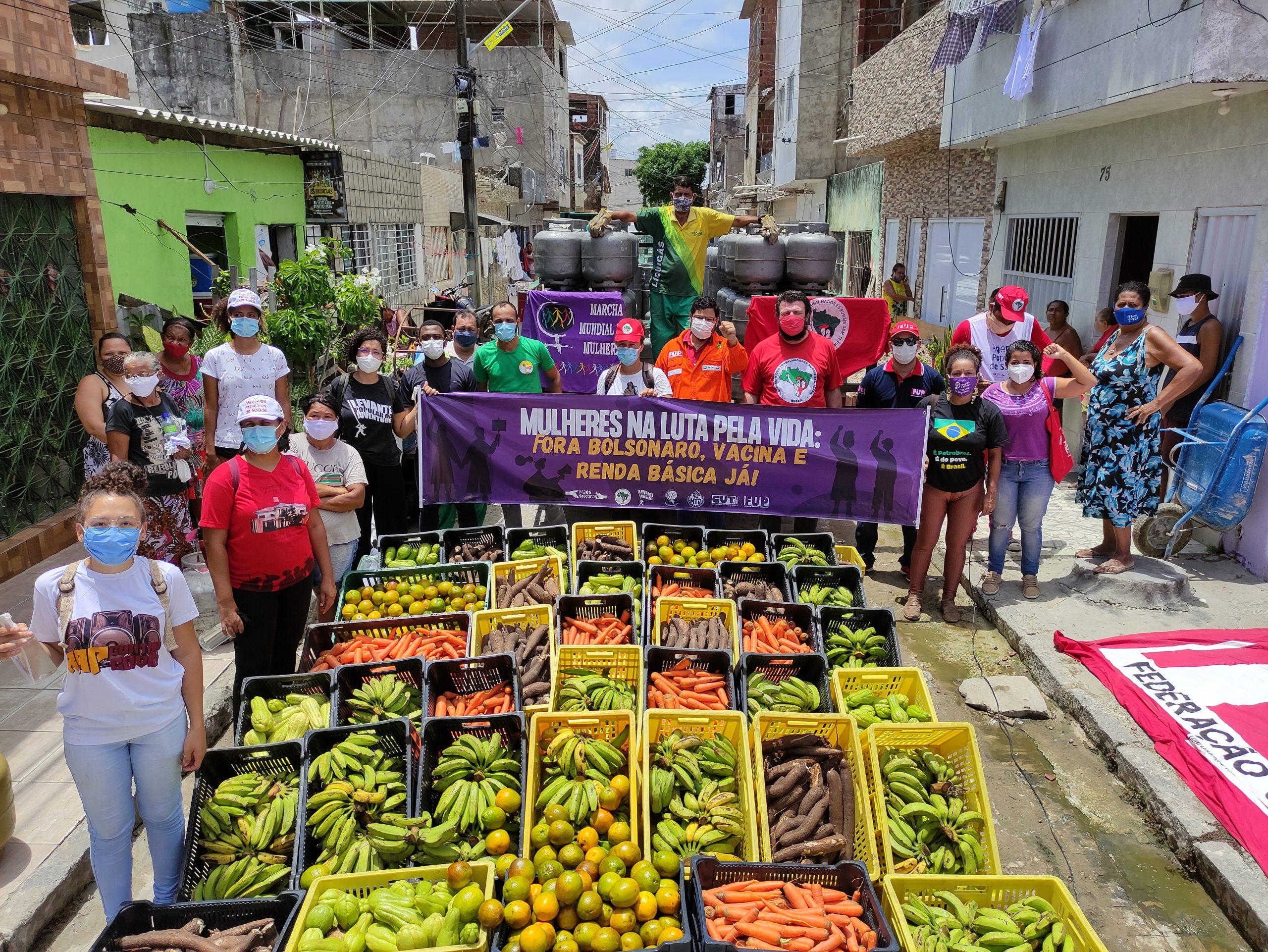 Cultivando Solidariedade: Jornada de Luta mobiliza famílias Sem Terra em todo o país
