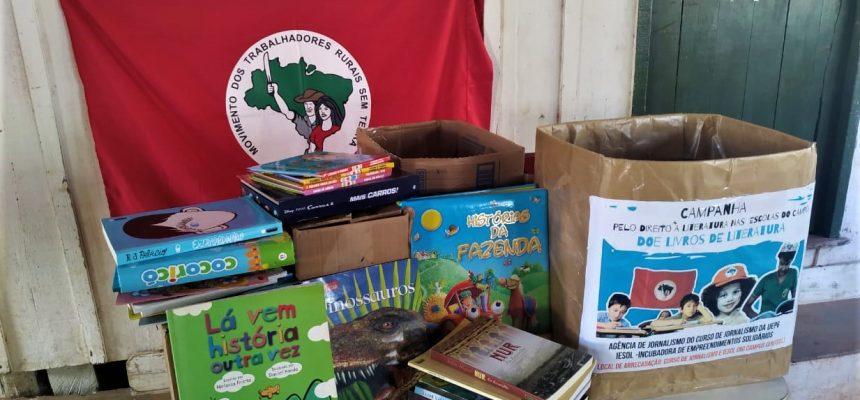 Departamento de Jornalismo da UEPG arrecada 250 livros  para escolas do campo, no PR