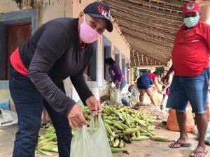Durante a pandemia, MST já doou 50 toneladas de alimentos saudáveis em Alagoas
