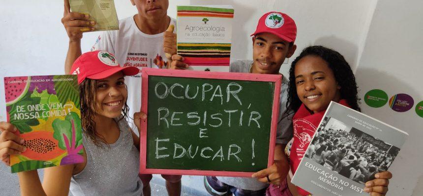 Em Alagoas, Juventude do MST lança campanha em defesa da Educação do Campo