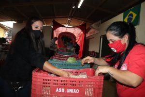 Terras repartidas que geram alimentos agroecológico e solidariedade