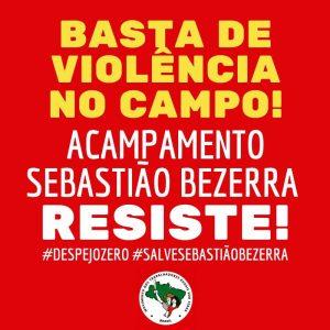 Vitória da classe trabalhadora: despejo suspenso no Acampamento Sebastião Bezerra