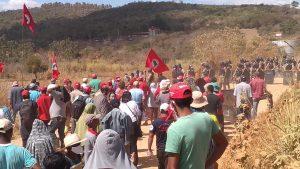 Parlamentares exigem reunião com Zema sobre despejo em Campo do Meio