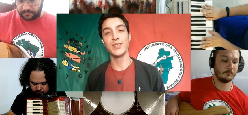 Juventude Sem Terra lança música com mistura de rap e sertanejo