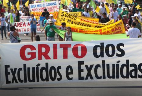 Grito das Excluídas/os denunciam às políticas de extermínio do Estado