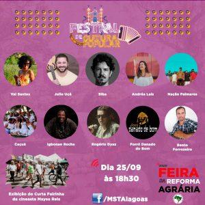 Feira da Reforma Agrária traz Festival de Cultura Popular em versão digital nesta sexta