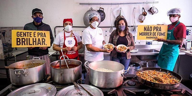Com almoços e painéis, Coletivo Banquetaço lança série de ações contra a fome
