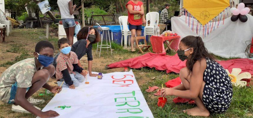 Sem Terrinha em ação: brincadeiras e árvores frutíferas no Rio de Janeiro