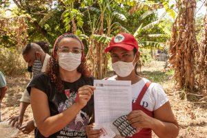 Em Ribeirão Preto (SP), MST entrega Carta aos candidatos à Câmara Municipal e Prefeitura