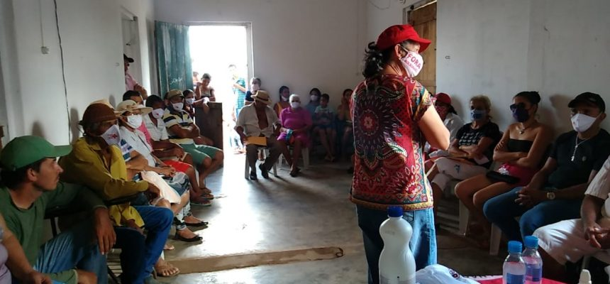 Famílias resistem ameaça de despejo no assentamento Xique-Xique na Paraíba