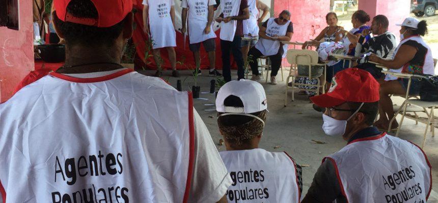 O povo cuidando do povo: Agentes Populares de Saúde iniciam ações, na Paraíba