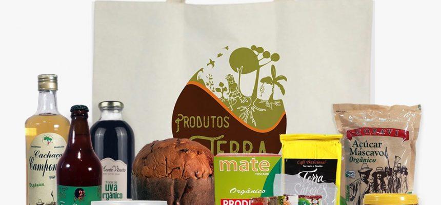 """Cesta """"Produtos da Terra"""" é opção de presente consciente e sustentável neste Natal, em Curitiba"""