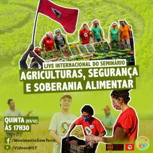 Feira da Economia Solidária recebe debate sobre segurança e soberania alimentar