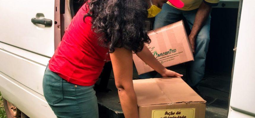 Comunidades quilombolas de Minas Gerais e organizações realizam troca de mais de 3 toneladas de alimentos