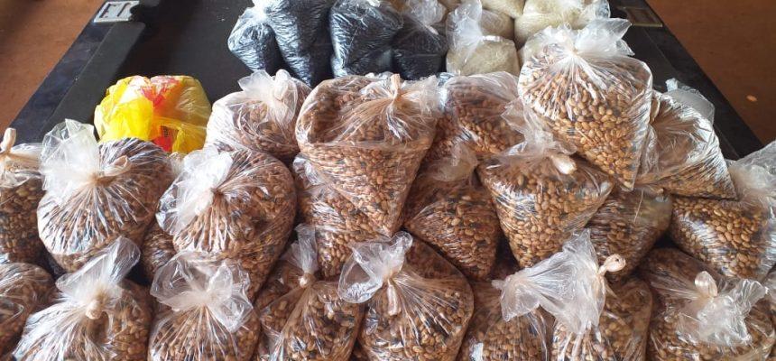 Famílias atendidas pela Pastoral da Criança de Quinta do Sol (PR) recebem 2 toneladas de alimentos do MST