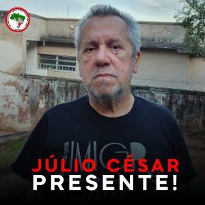 Nota de pesar do companheiro Júlio César