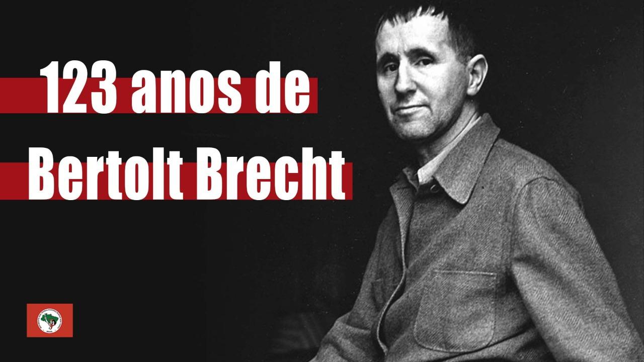 123 anos de Bertolt Brecht