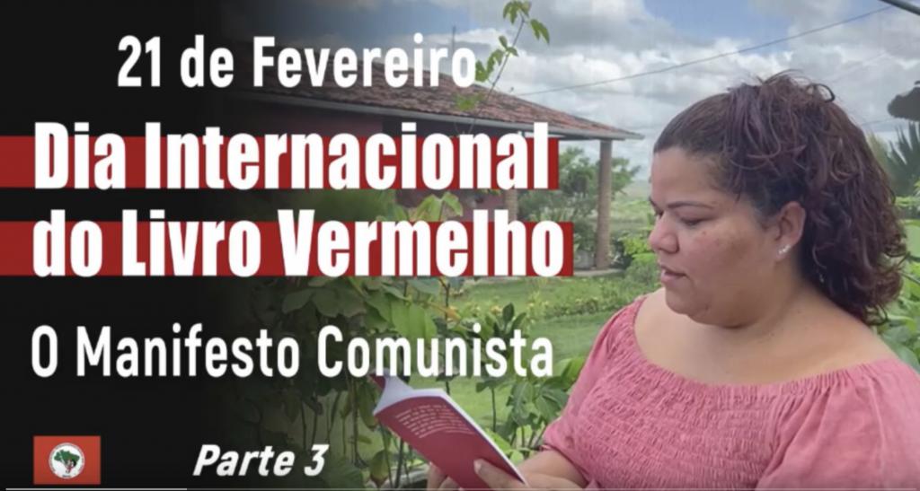 Dia do Livro Vermelho – O Manifesto Comunista   Parte 3