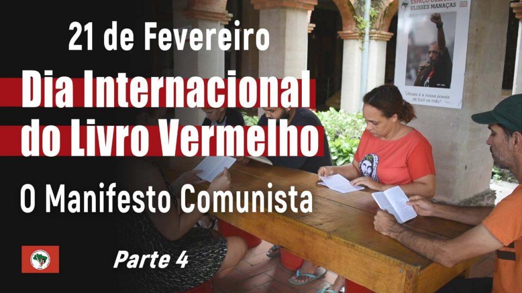 Dia do Livro Vermelho – O Manifesto Comunista | Parte 4