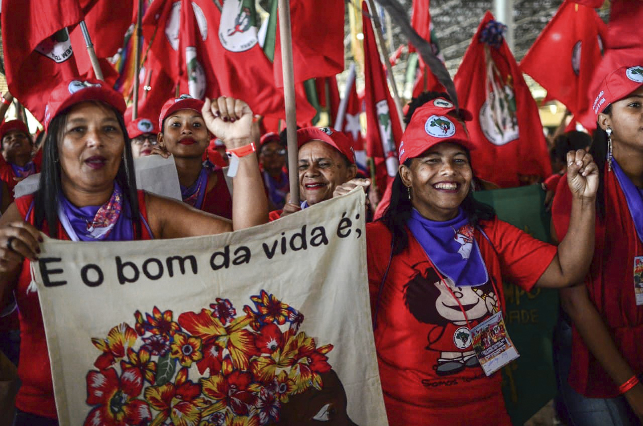 Mulheres em Luta, Semeando Resistência!