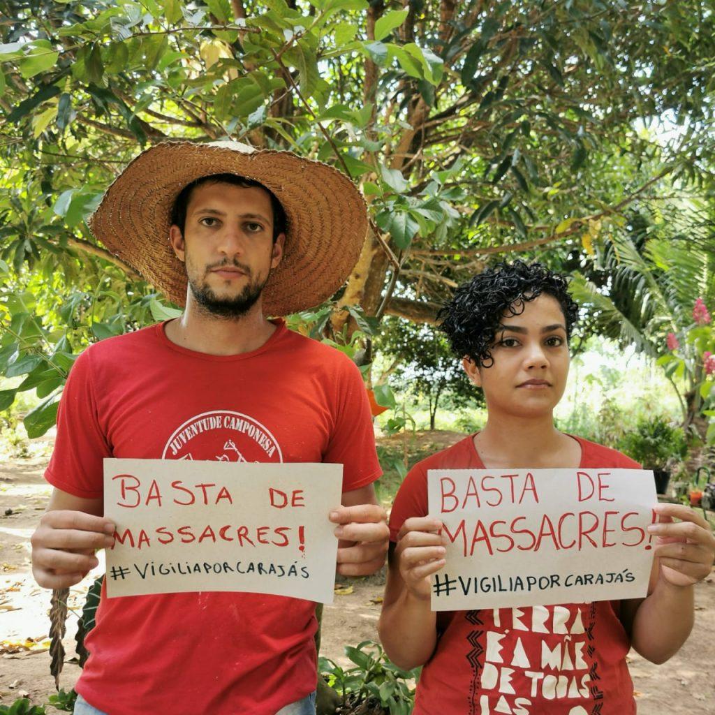 Agitação nas Redes em memória aos 25 anos do Massacre de Eldorado do Carajás