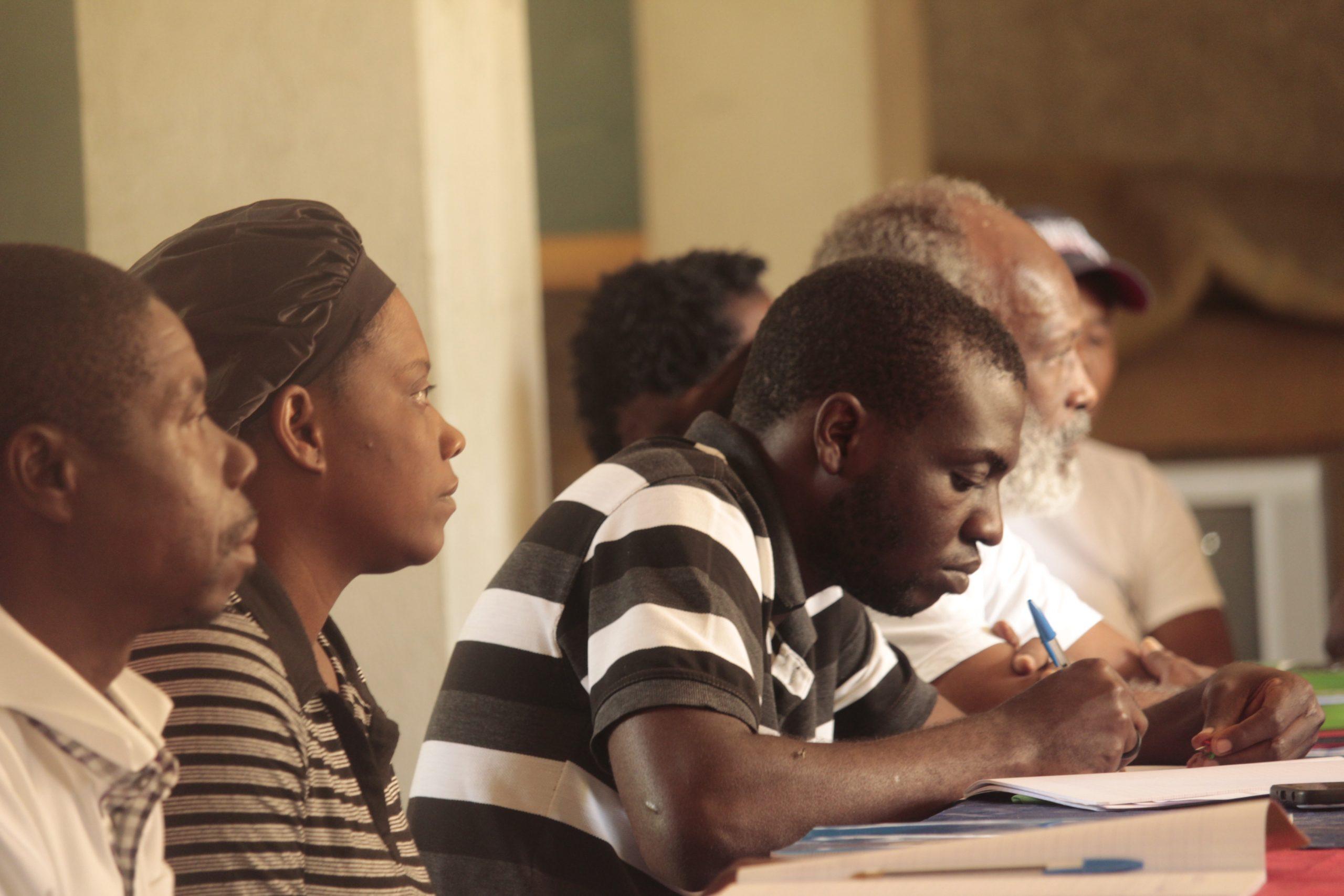 Curso de Agroecologia no Haiti