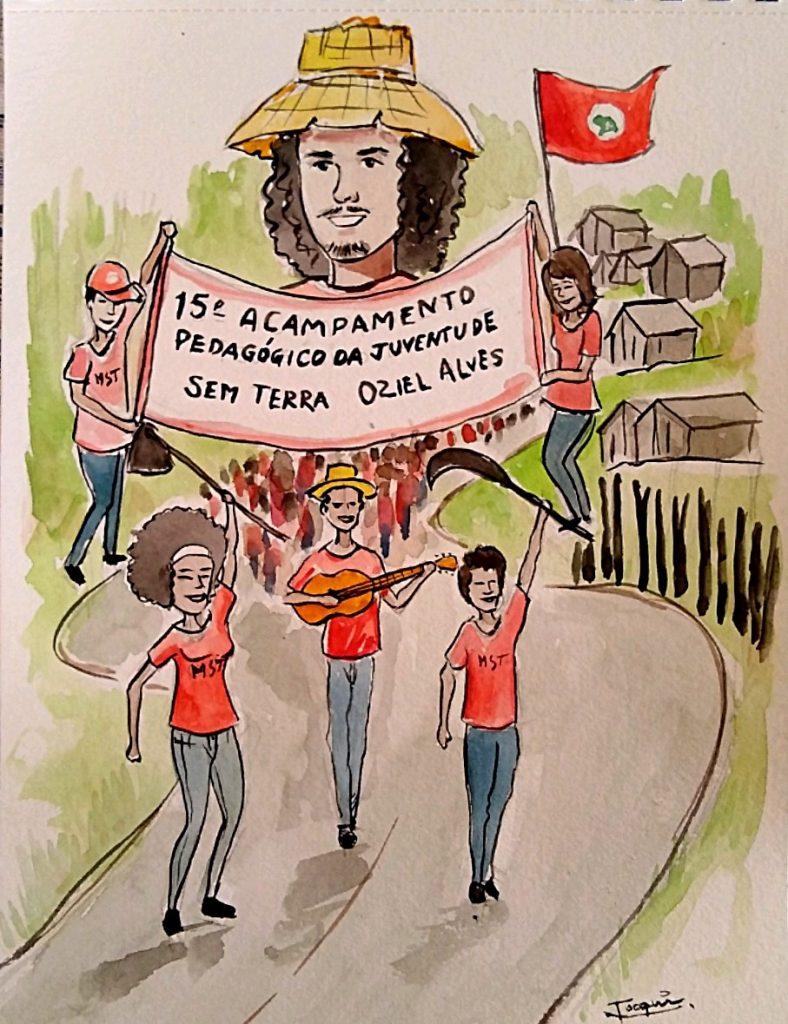 Acampamento Pedagógico: Manifesto da Juventude Sem Terra À Esperançar