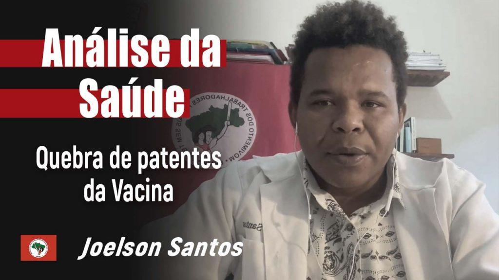 Análise da Saúde com Joelson Santos