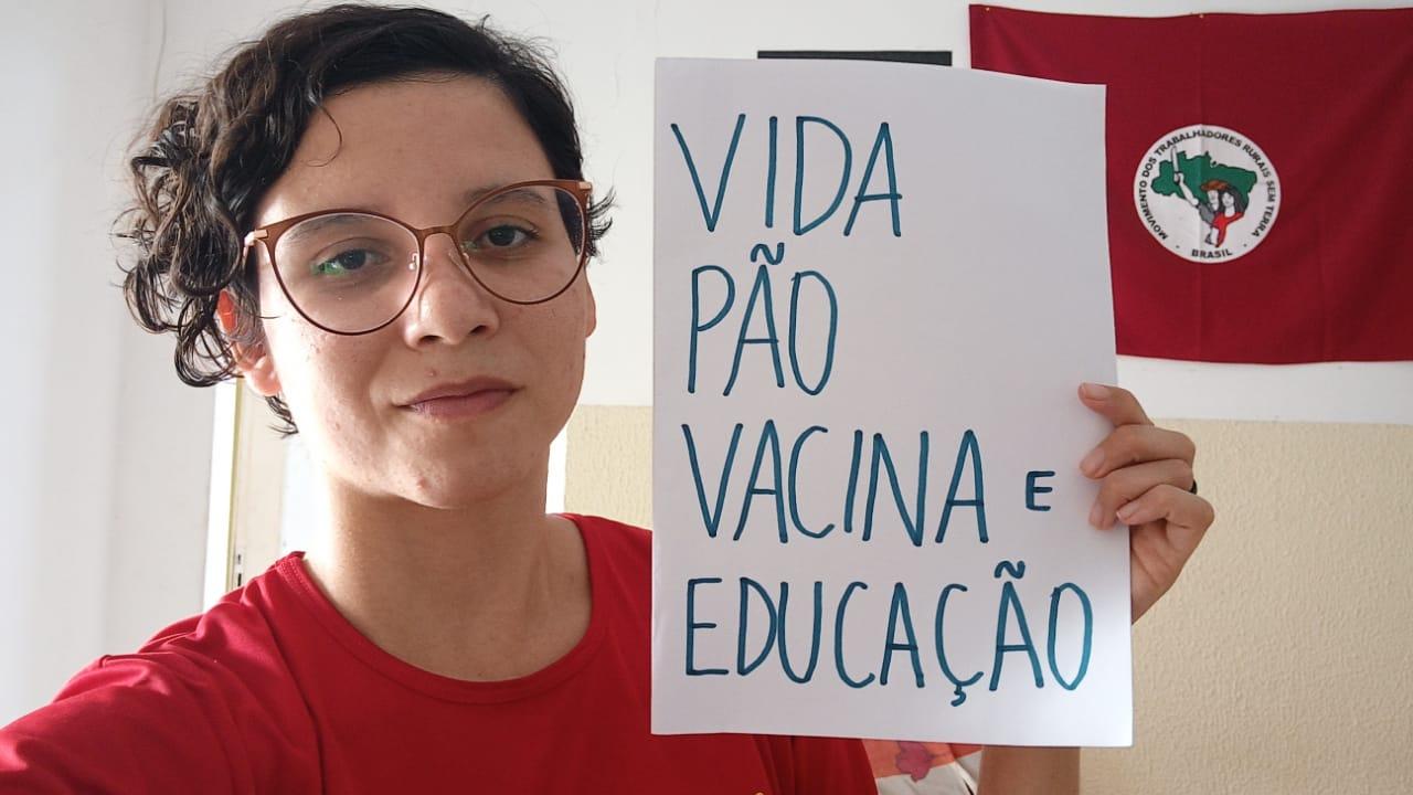 Vida, Pão, Vacina e Educação! Diário da Juventude Sem Terra: 3º dia de Acampamento