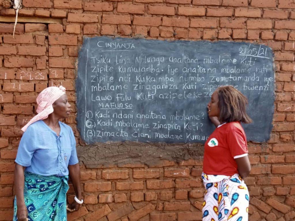 Campanha de Alfabetização na Zâmbia